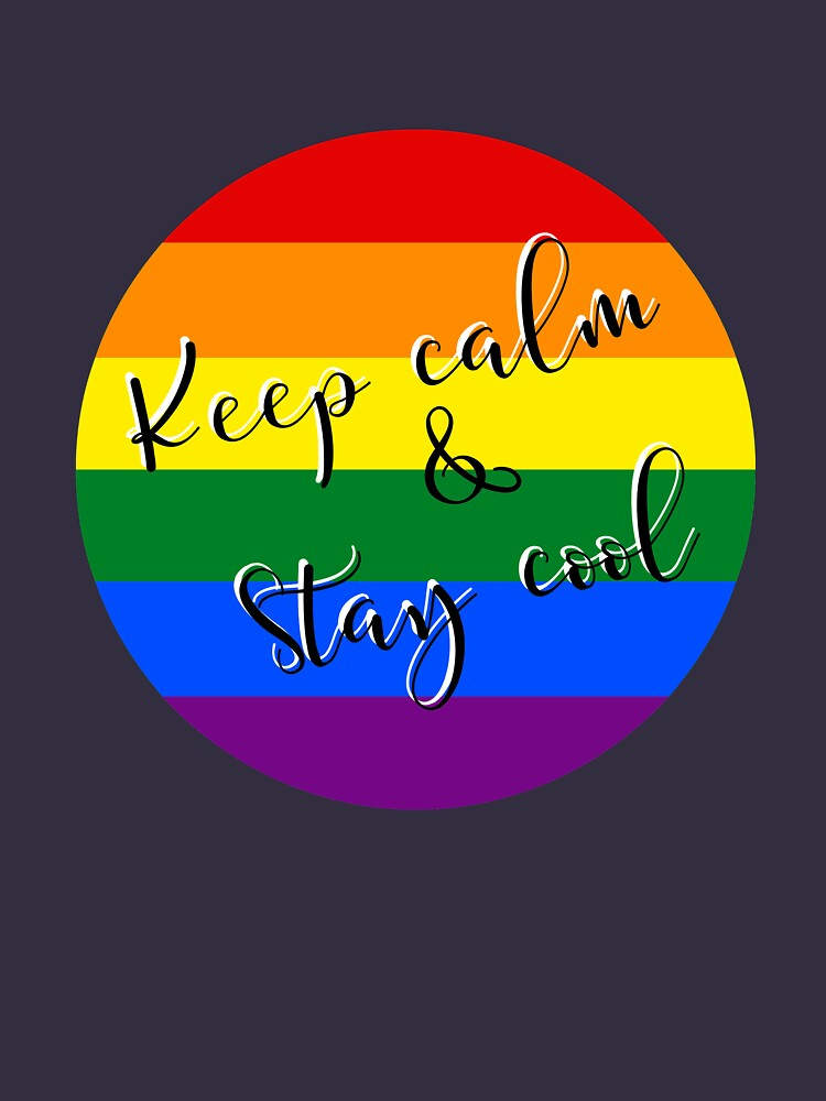 Keep calm & Stay cool! by 888designShop