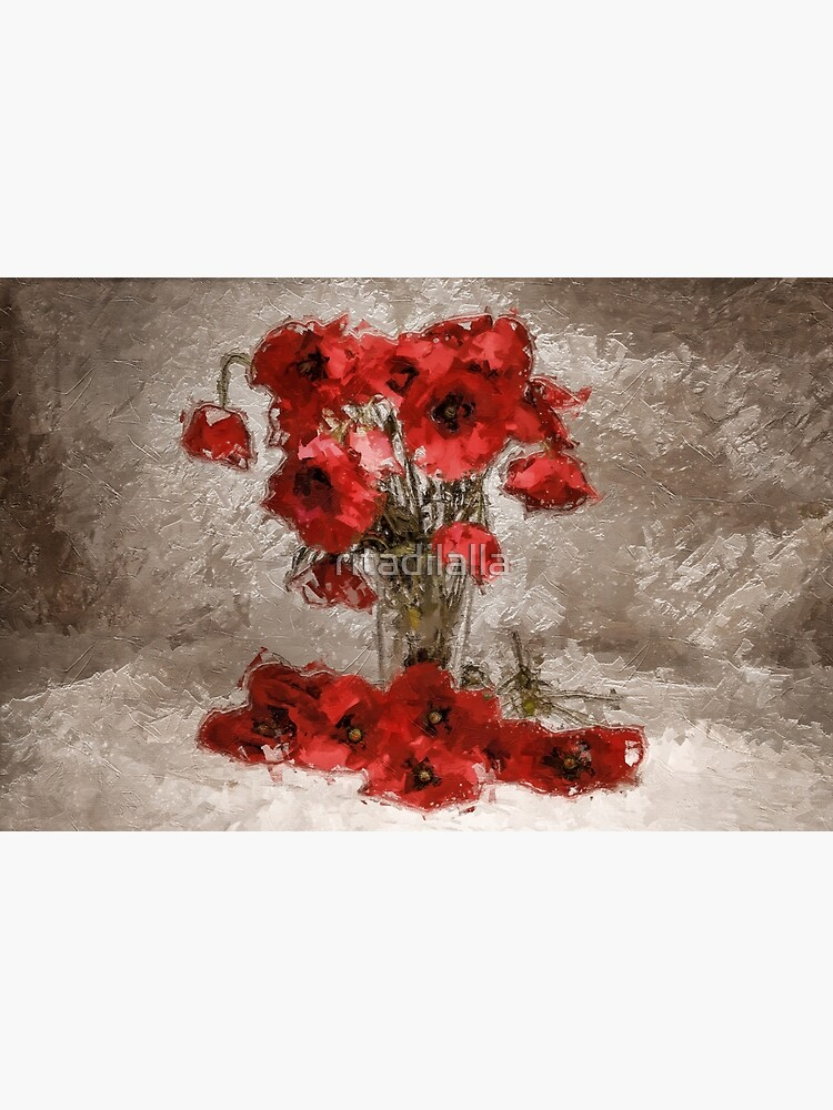 Bouquet of poppies by ritadilalla