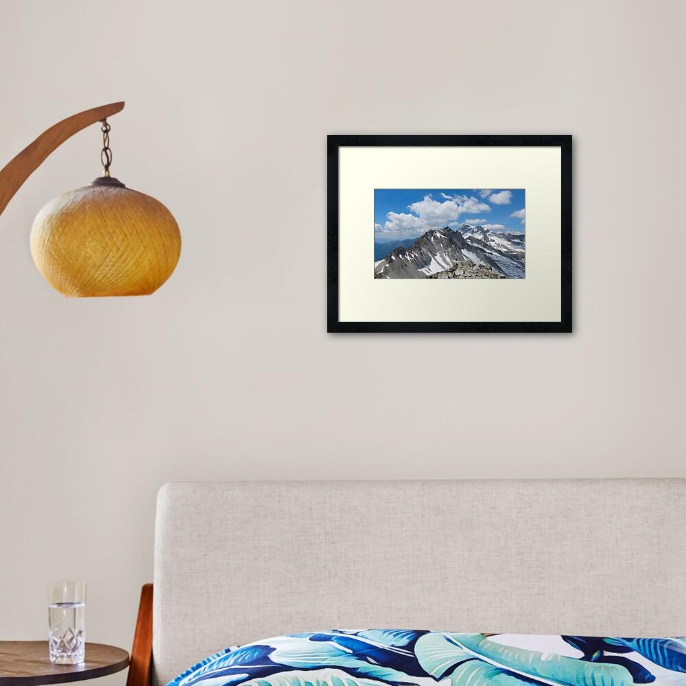 Hohe Tauern National Park Framed Art Print