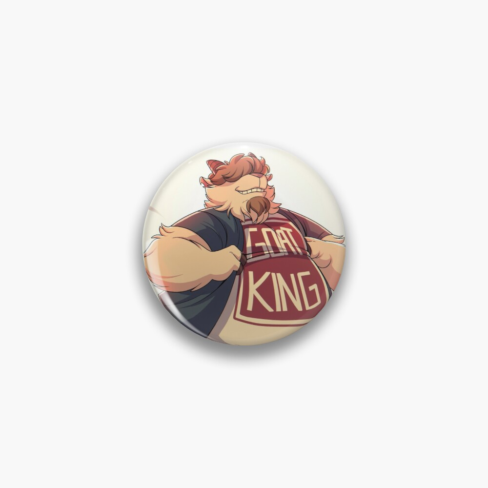 The Coolest Goat on Earth Pin