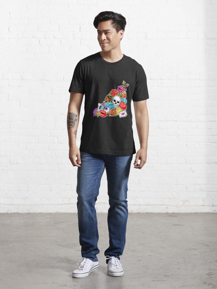 Alternate view of Hardcore Pileup Essential T-Shirt