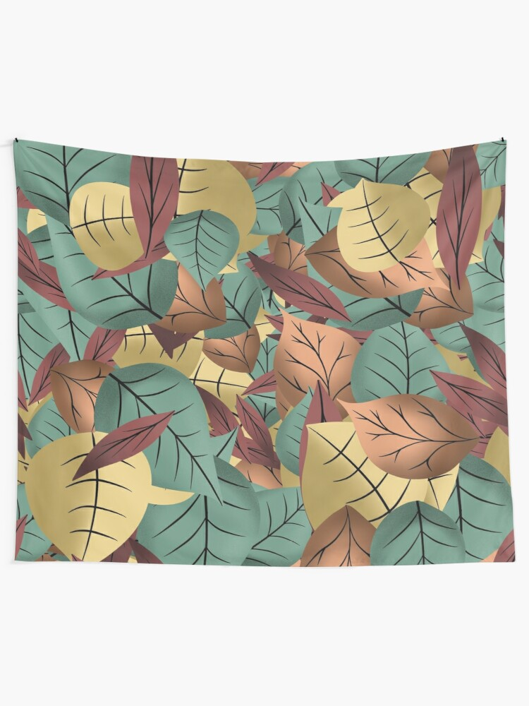 Alternate view of Autumn leaves  Tapestry