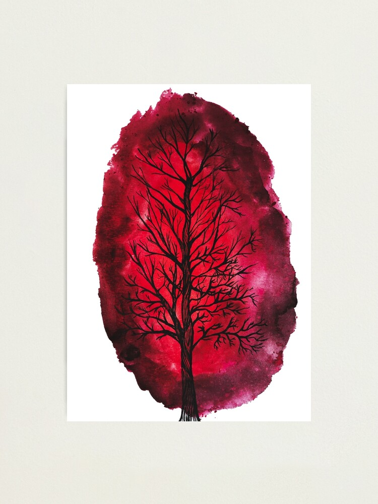 Alternate view of Bleeding tree Photographic Print