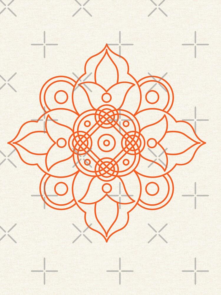 Indian pattern by JuliaFaranchuk