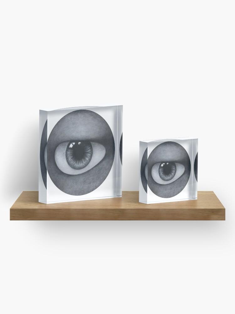 Alternate view of The Eye Acrylic Block