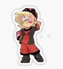 Little Hero-Wade Sticker