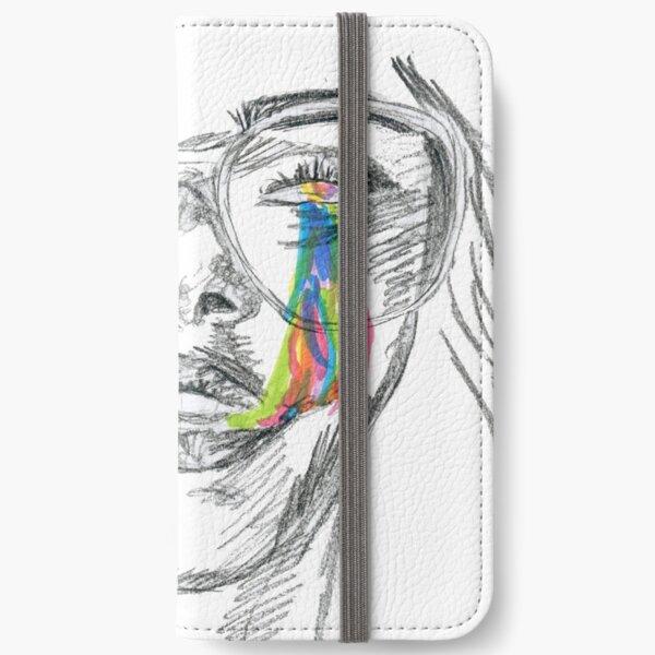 Rainbow Tears iPhone Wallet