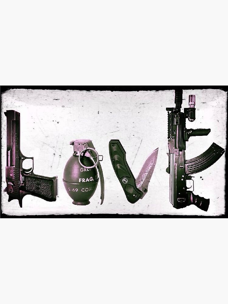 LOVE GUNS  by HeSSii
