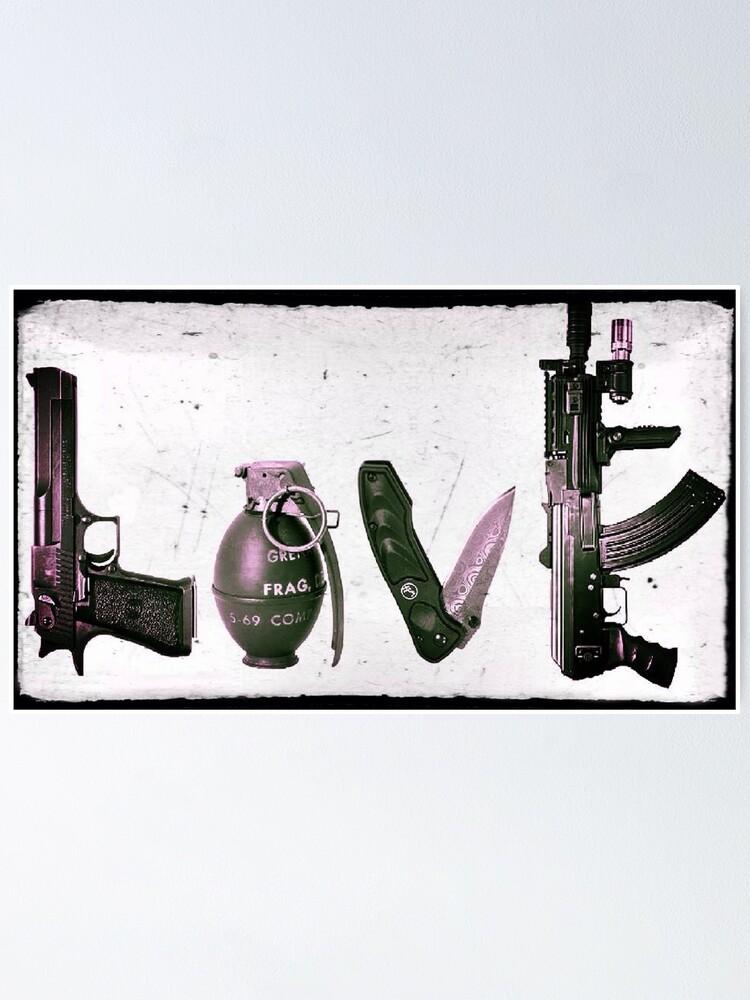 Alternate view of LOVE GUNS  Poster