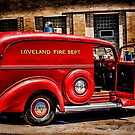 Loveland Fire Sedan by Bobby Deal