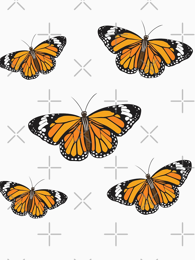 Monarch Butterfly Sticker Pack  by PlumBlushCo