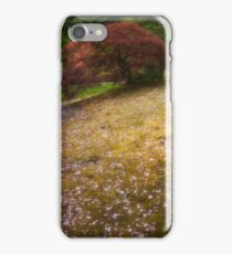 Japanese Maple Tree in Spring iPhone Case/Skin