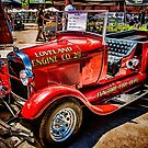Hot Rod Fire Truck by Bobby Deal