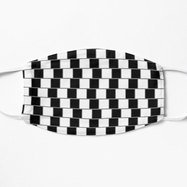 Visual Illusion #VisualIllusion Optical #OpticalIllusion #percept #reality Flat Mask