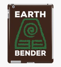 Earth Bender and Proud iPad Case/Skin