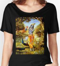 Yoga Pants Bali Krishna Women's Relaxed Fit T-Shirt
