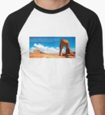 Kerouac's On the Road in Utah Men's Baseball ¾ T-Shirt