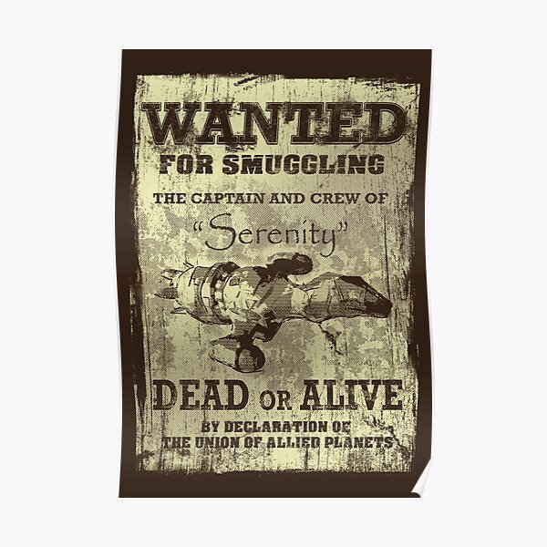 Serenity Wanted Poster