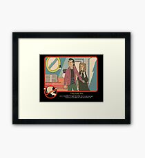 "Venkman - ""They hate this."" Framed Print"