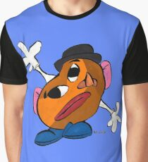 Mr. Potato Head as a Picasso Graphic T-Shirt