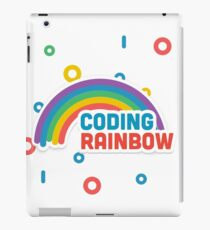 Coding Rainbow  iPad Case/Skin