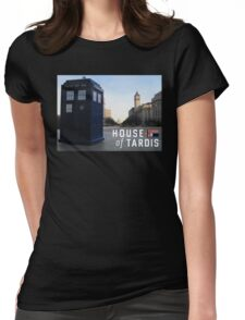 House of TARDIS Womens Fitted T-Shirt