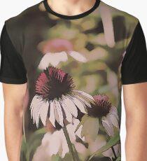 Purple Garden Delight Graphic T-Shirt