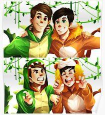 Dan & Phil - Onesies Poster