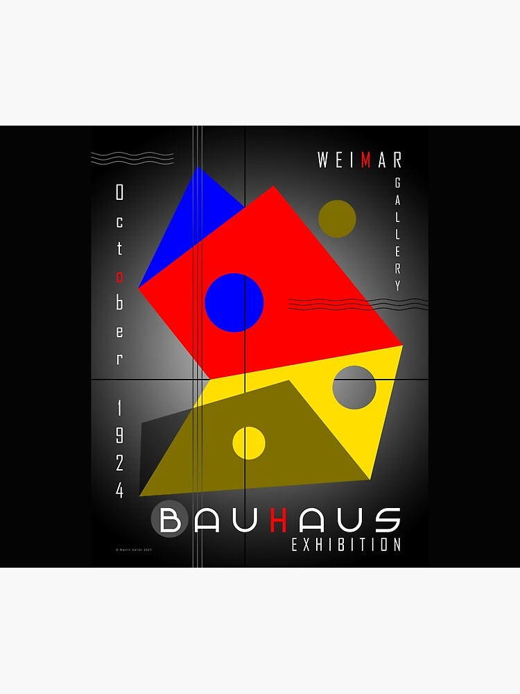 Bauhaus Exhibition Poster 1924 VIII v.2 by BLTV