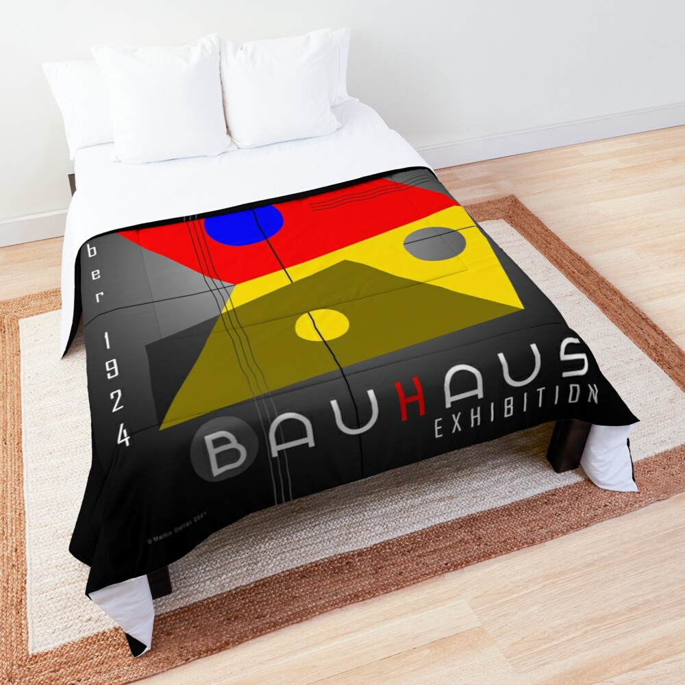 Bauhaus Exhibition Poster 1924 VIII v.2 Comforter
