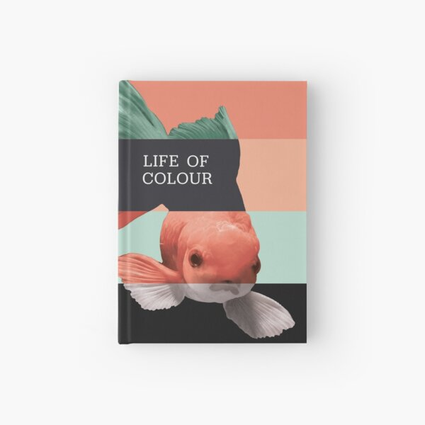 LIFE OF COLOUR | GOLDFISH | EDITORIAL ART Hardcover Journal