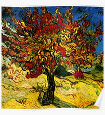 Van Gogh Mulberry Tree Poster