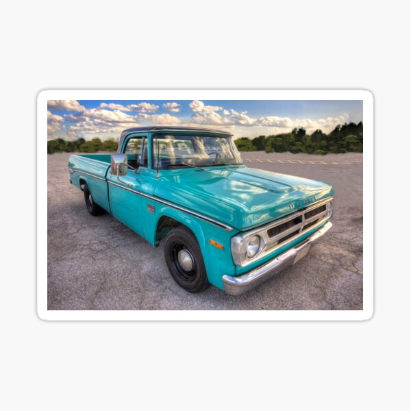 1970 Dodge Pickup Truck Sticker