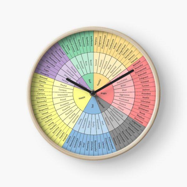 Feelings Wheel Clock