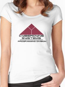 Cyberdyne Systems: Programming Divison  Women's Fitted Scoop T-Shirt