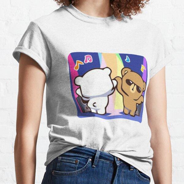 Ours au lait et moka T-shirt classique