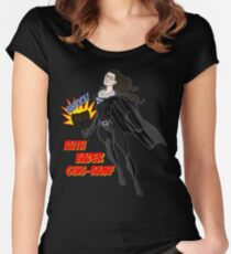 The Mighty Notorious RBG Women's Fitted Scoop T-Shirt