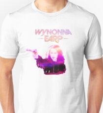 Wynonna Earp and Her Big Ass Gun. (Pink/Purple) T-Shirt