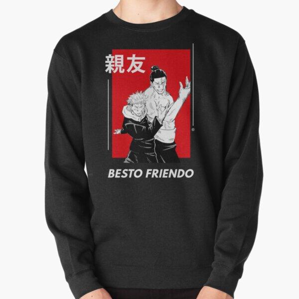 Besto Friendo - Itadori and Todo Pose | Jujutsu no Kaisen Pullover Sweatshirt