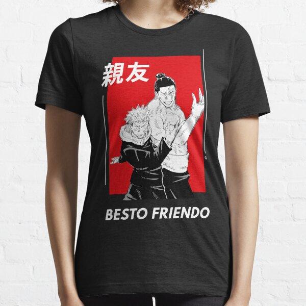 Besto Friendo - Itadori and Todo Pose | Jujutsu no Kaisen Essential T-Shirt