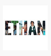Ethan Dolan name #2 Photographic Print
