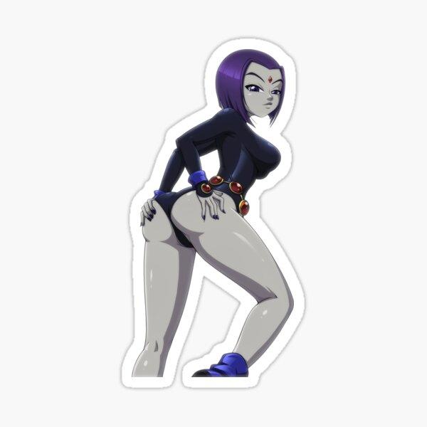 Sexy Raven Sticker