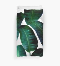Cosmic Banana Leaves #redbubble #lifestyle Duvet Cover