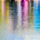 Colourful reflection in water  by PhotoStock-Isra