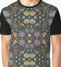 Funky Bloom Graphic T-Shirt