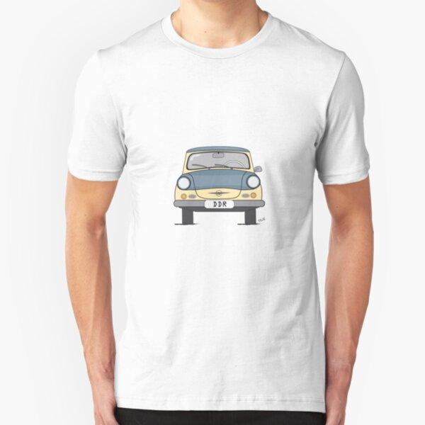 Trabant, retro car Slim Fit T-Shirt