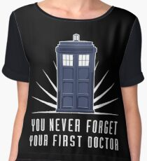 Dr Who Chiffon Top