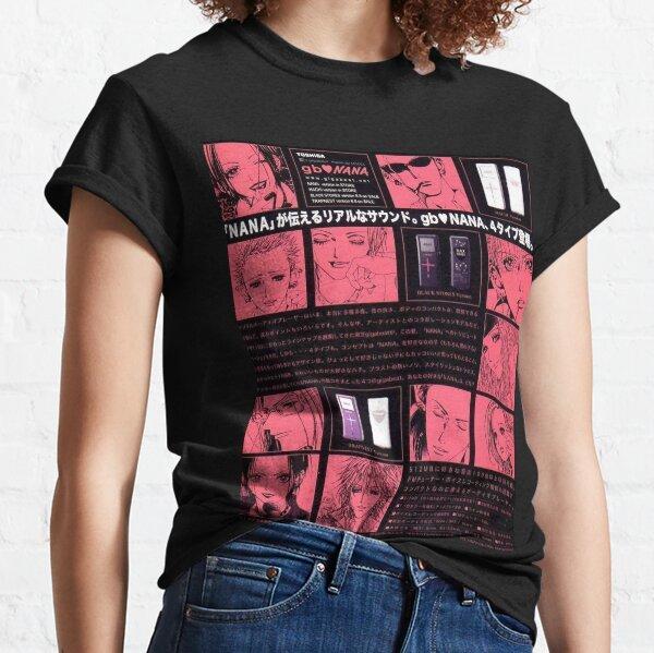 Nana The Black Stones, Trapnest et Nana Komatsu Vintage Pink Squares Spread T-shirt classique
