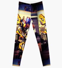 Bumblebee Flip The Bird - Transformers Leggings