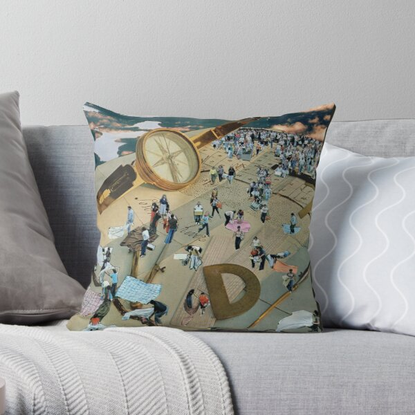 unconventional picnicking  Throw Pillow